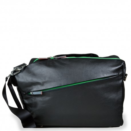 48H Convertible Messenger in Black and Green