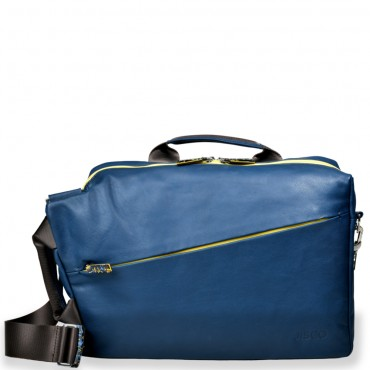 48H Convertible Messenger in Navy and Yellow
