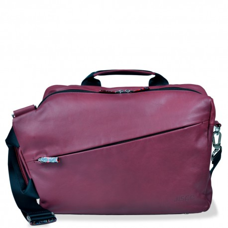 48H Convertible Messenger in Dark Red and Black