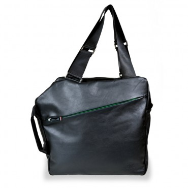 Weekender Shopper in Black and Green