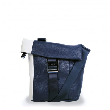 Borsello in Navy Blue and Cream