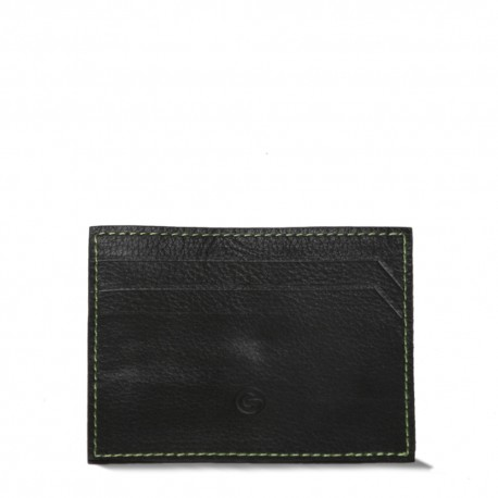 Black Cardholderwith Money Clip