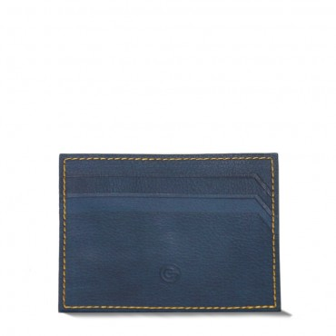 Blue Cardholderwith Money Clip