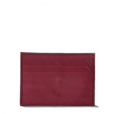 Red Cardholderwith Money Clip