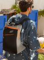 Black and Grey Neoprene Backpack
