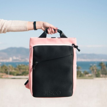 Neoprene Backpack Grey & Pink